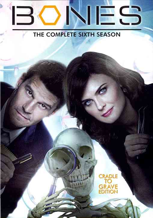 BONES SEASON 6 BY BONES (DVD)